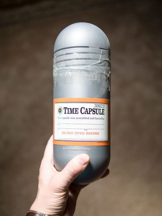 Find Out What's Inside This 21 Year Old Time Capsule