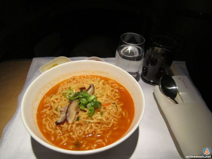 Amazing Meals You Can Get In First Class