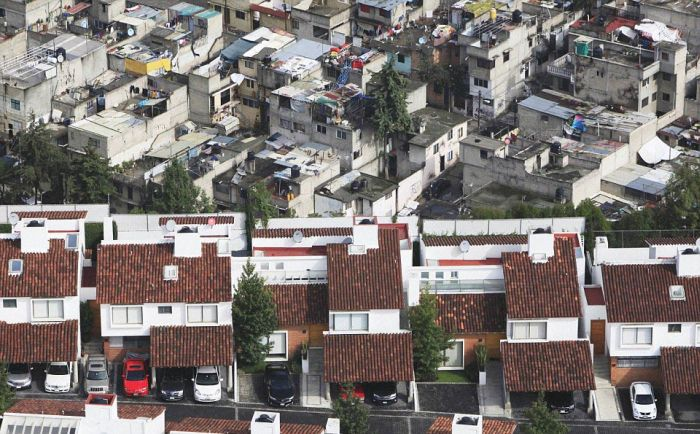The Difference Between Rich And Poor In Mexico