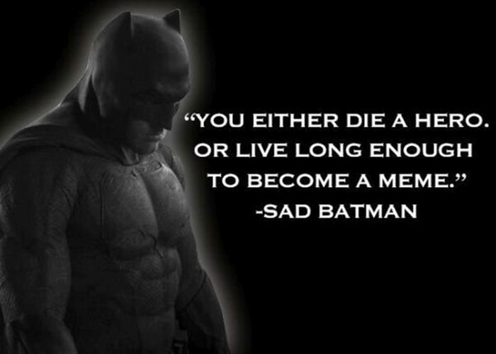 Sad Batman Is Pretty Much The Greatest Thing Ever