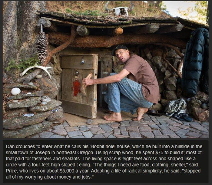 This Man Lives A Simple But Awesome Life