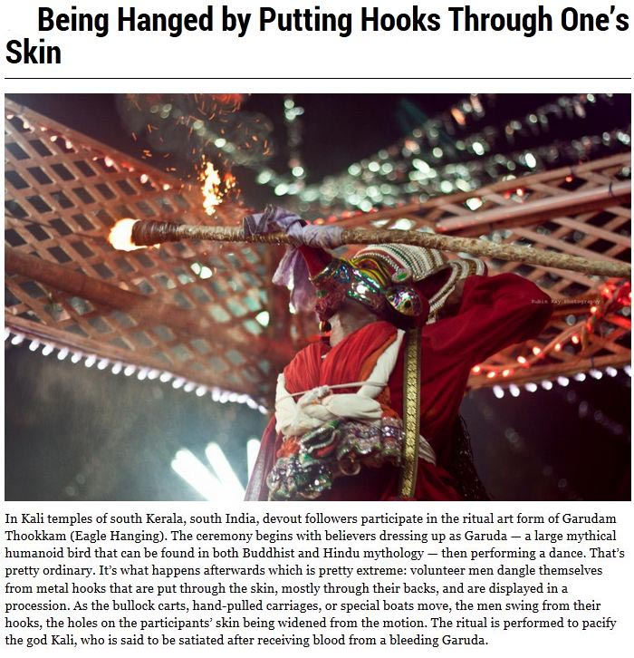 Religious Rituals That Are Weird And Creepy