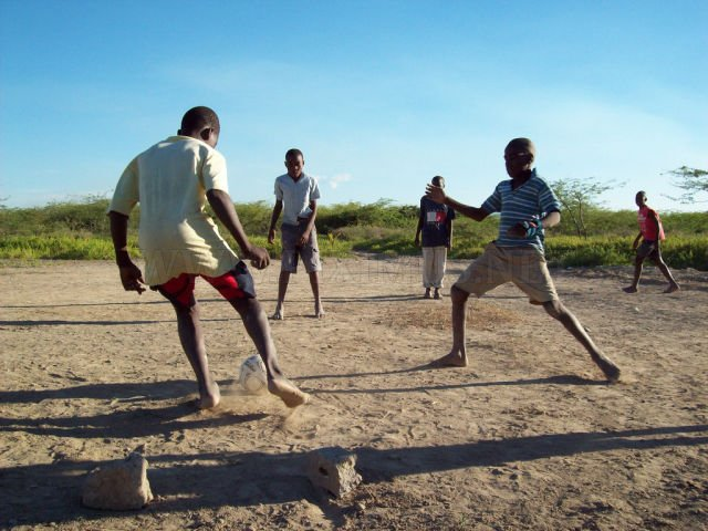 Soccer in poor countries