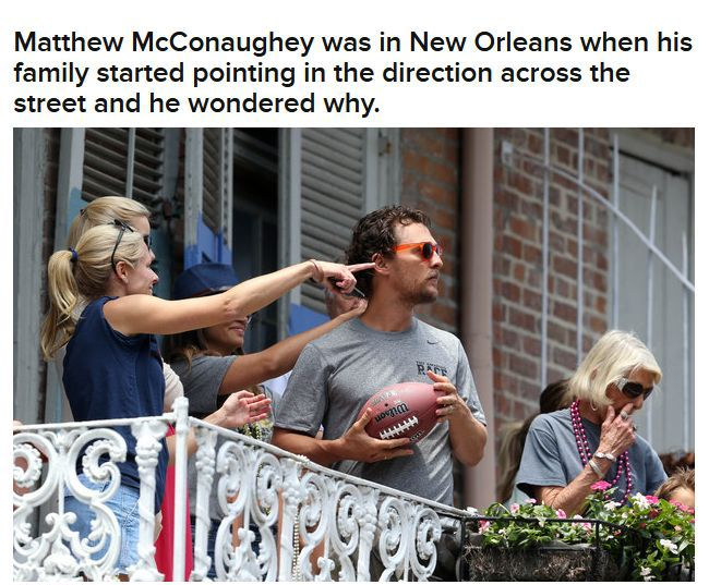 Brad Pitt Hooks Matthew McConaughey Up With A Beer