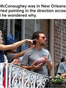 Brad Pitt Hooks Matthew McConaughey Up With A Beer