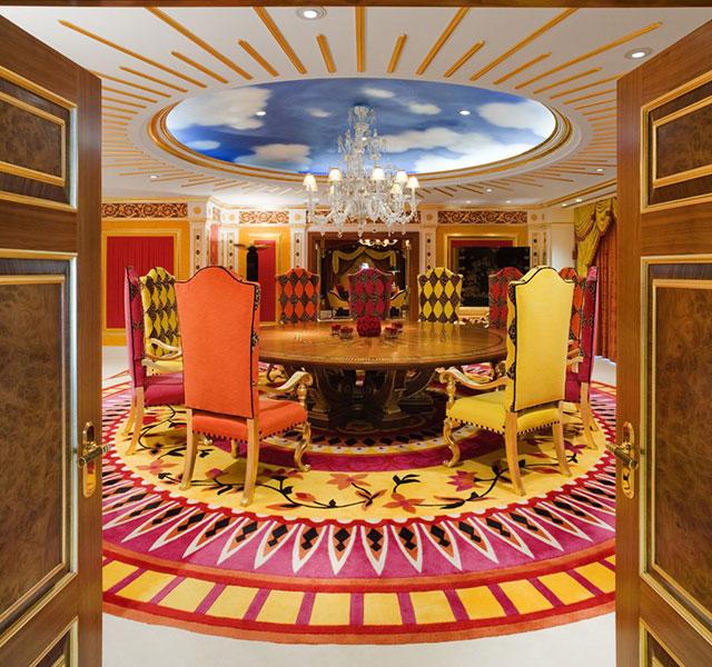 Inside the $24,000 a night Royal Suite at the Burj Al Arab In Dubai