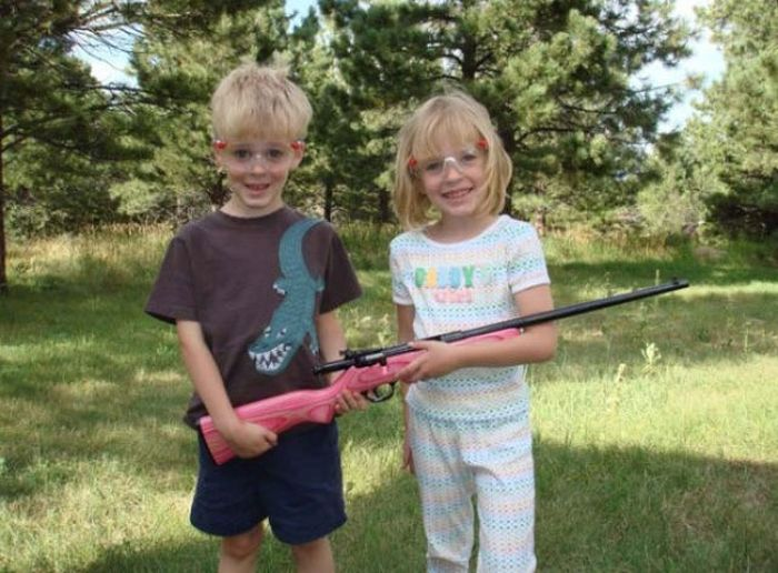 American Kids Love Their Guns