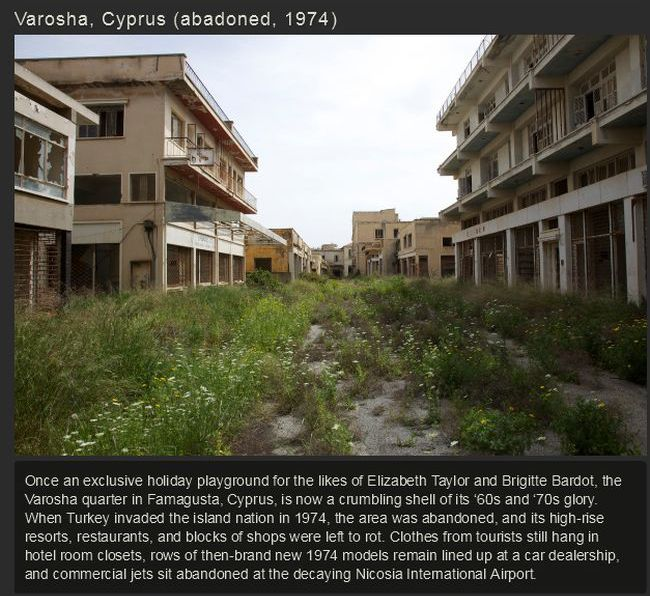 Awesome Abandoned Cities From Around The Globe