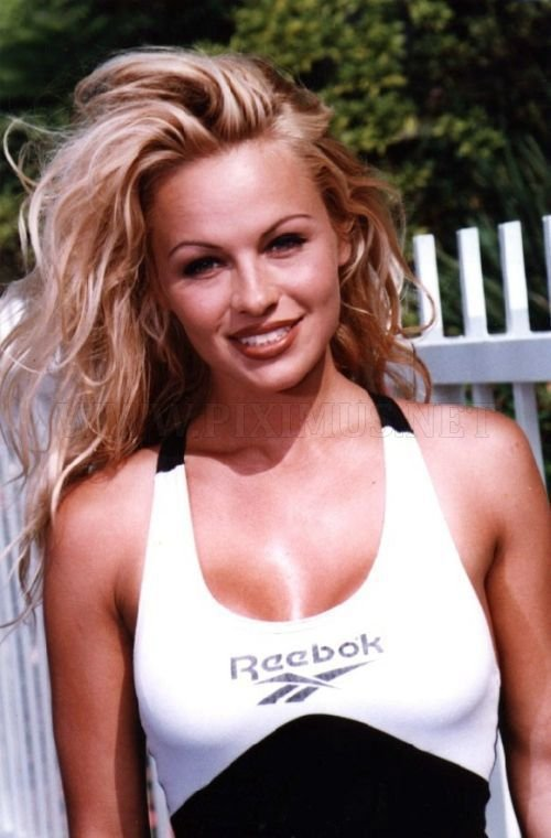 Pamela Anderson in his youth