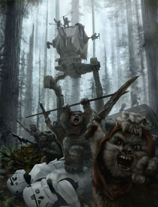 Star Wars Art That Is Out Of This World