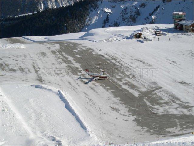 Unusual airport