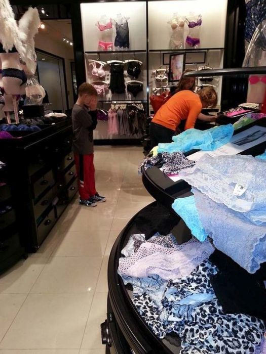 These Kids Have No Interest In Shopping