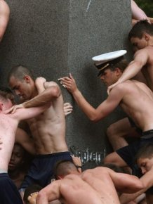 One Of The Weirdest Navy Traditions