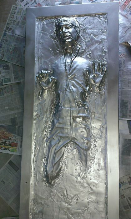 Awesome Replica Of Han Solo In Carbonite