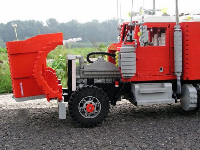 Lego Trucks and Lego Weapons