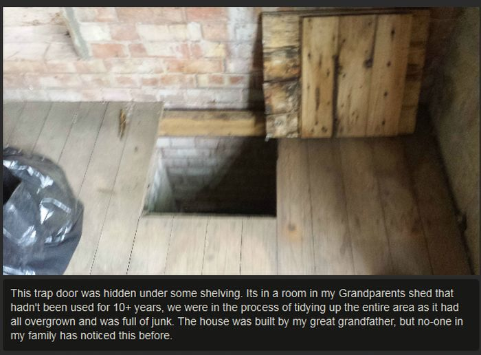 Man Finds Secret Room At His Grandparent's House