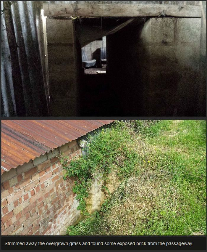 Man Finds Secret Room At His Grandparent's House