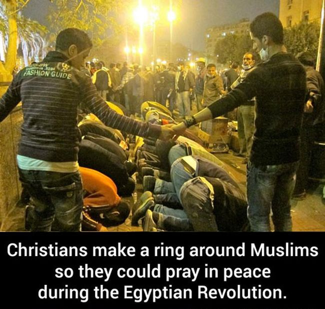 Christians Protecting Muslims And Vice Versa