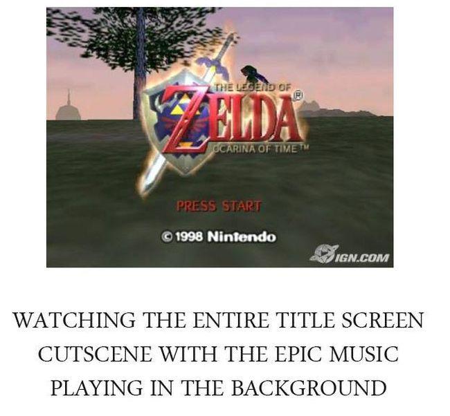 Get Nostalgic With Legend Of Zelda: Ocarina Of Time
