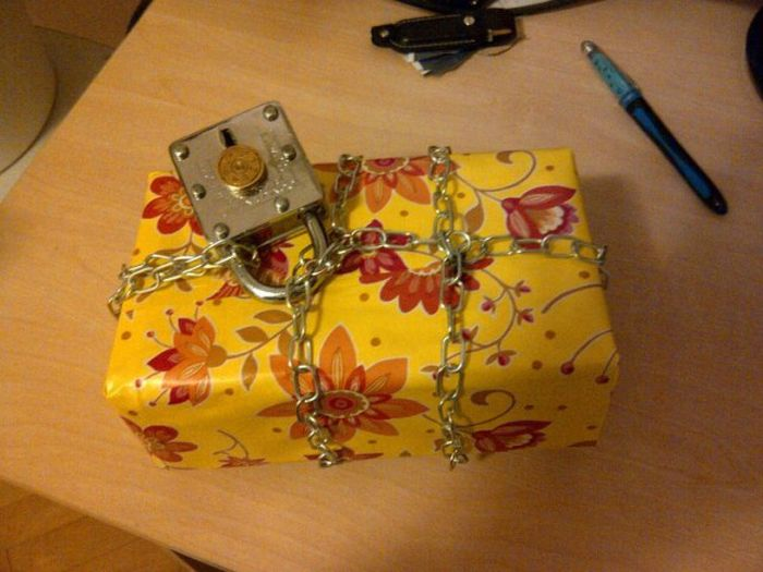 This Gift Is Locked Up Like Fort Knox