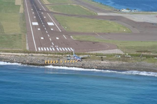 When a plane runway is too short