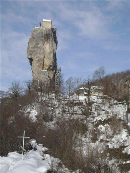 Churches on the Picturesque Georgian Rocks
