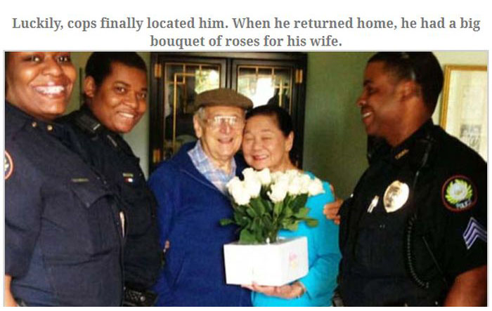 Man With Alzheimer's Comes Home And Brings Flowers