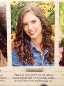 Hilarious Quotes From The School Yearbook