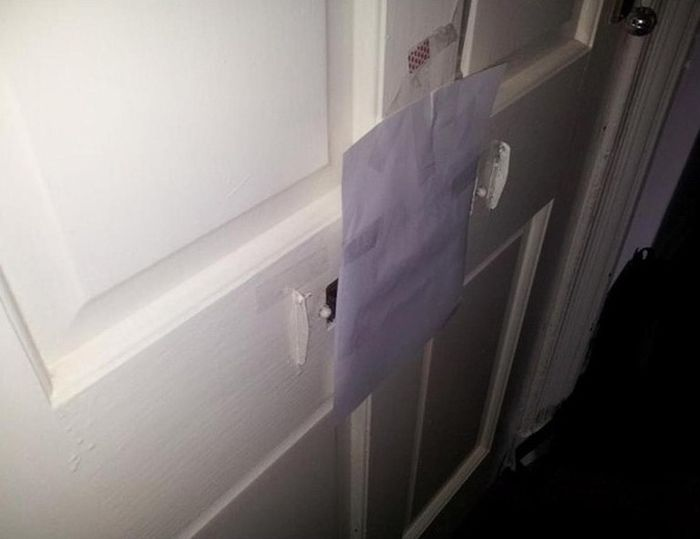 Zombie In The Mail Slot