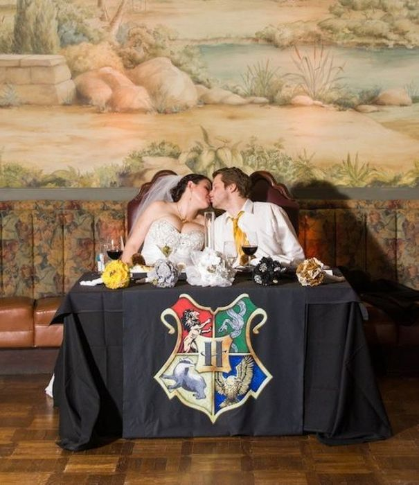 This Harry Potter Theme Wedding Is Magical