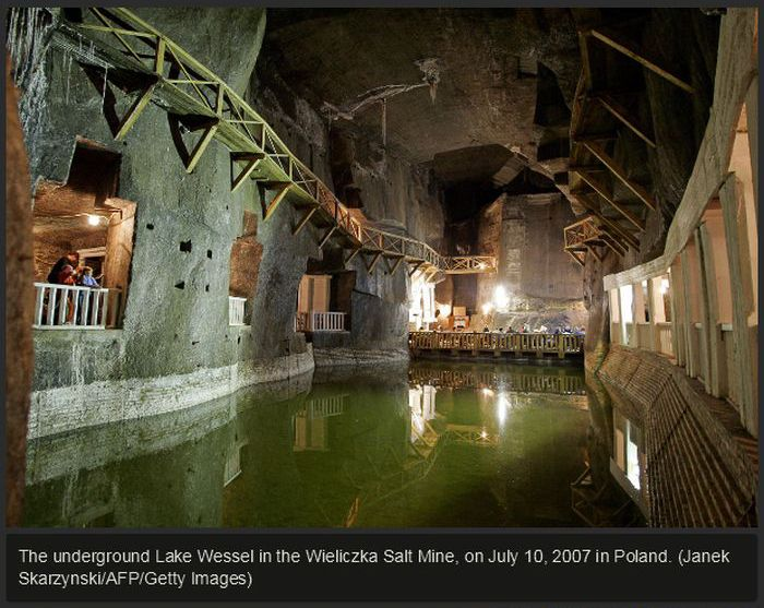 The World's Coolest Salt Mines
