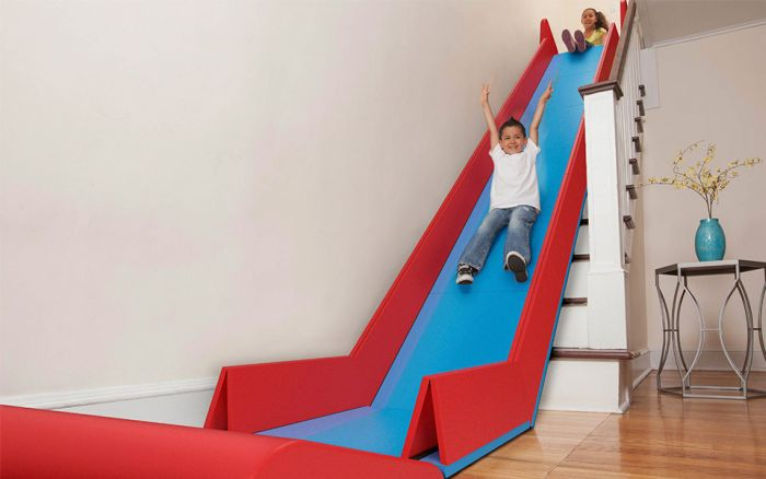 Turn Your Staircase Into A Slide
