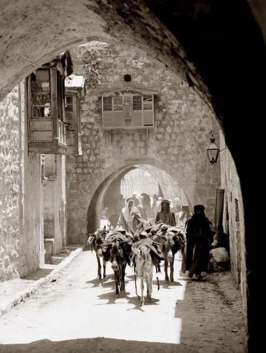 Retro Photos of Israel