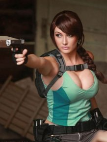 There's No Cosplay Like Lara Croft Cosplay