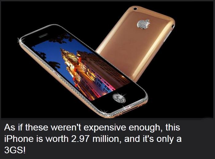 25 Of The Most Expensive Things Ever