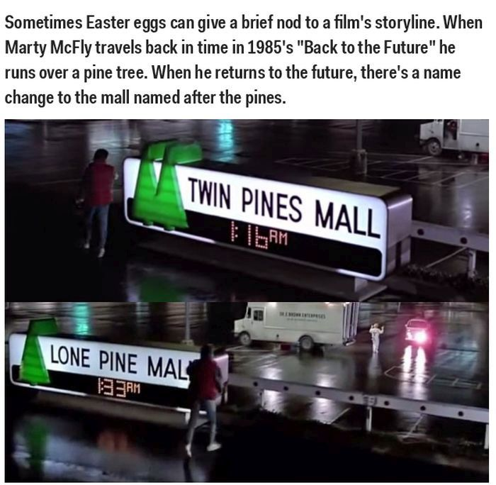 Hidden Easter Eggs In Big Hollywood Movies