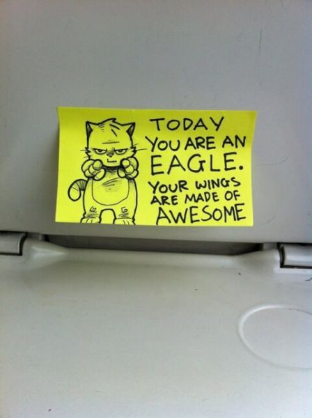 The Most Motivational Post It Notes Ever