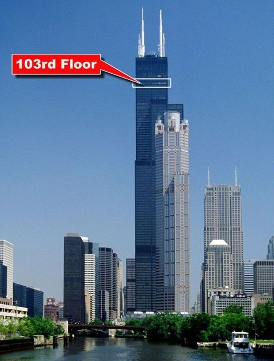 Willis Tower S Glass Skydeck Is Broken And Terrifying Others