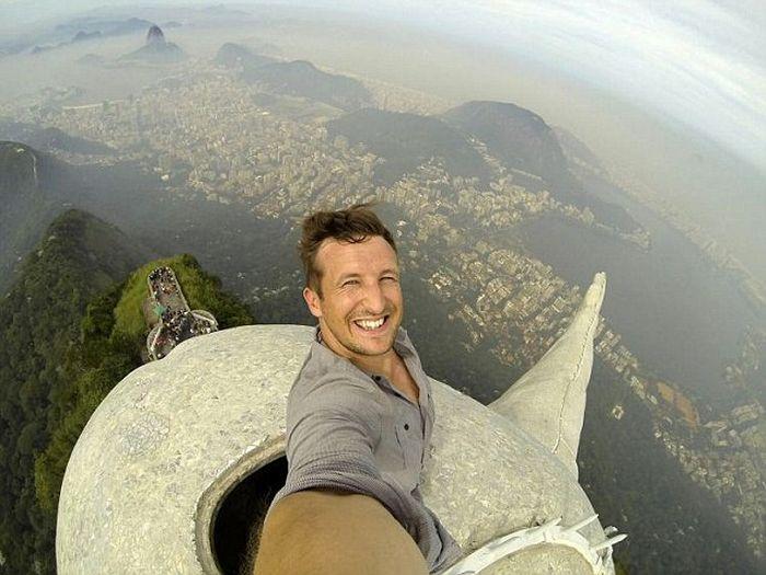 The World's Highest Selfie