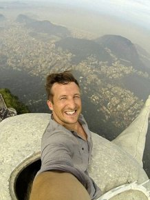 The World's Highest Selfie
