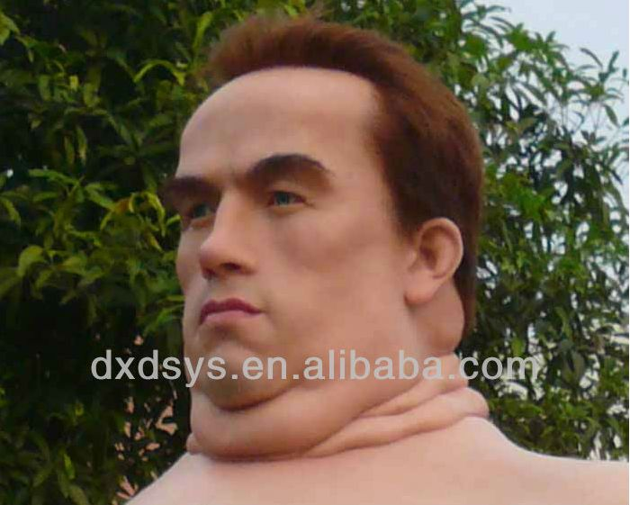 This Wax Statue Of Arnold Schwarzenegger Is Gross