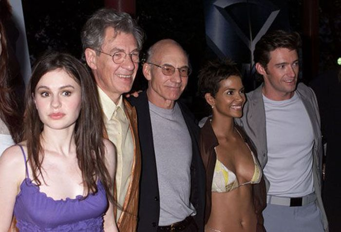 See The Cast Of X-Men 14 Years Ago