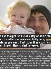 What It's Really Like To Be A Stay At Home Dad