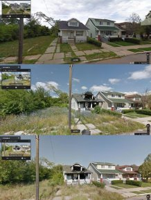 Google Steet View Documents The Decline Of Detroit