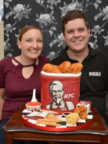 Think This Is A Bucket Of KFC? Think Again