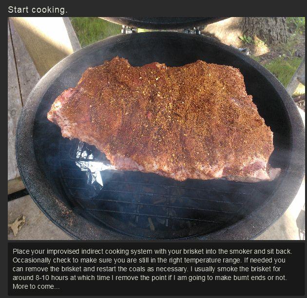 The Best Way To Make Smoked Brisket