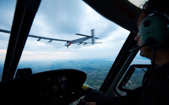 Amazing Solar Powered Plane