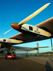 Amazing Solar Powered Plane