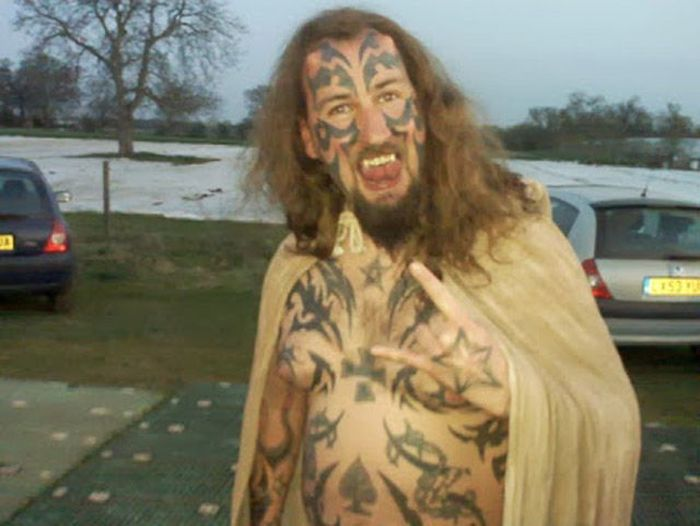 This Guy Spent Almost $20,000 To Look Like The Devil