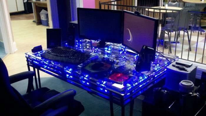 PC Inside a Table
